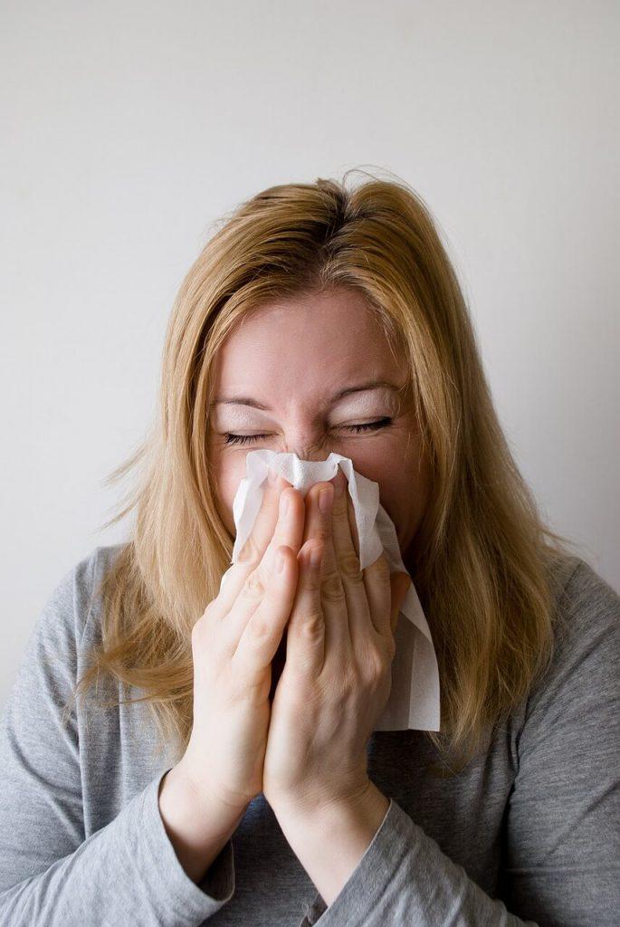 alergija, kihanje